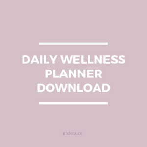 Nadora Daily Wellness Planner Download