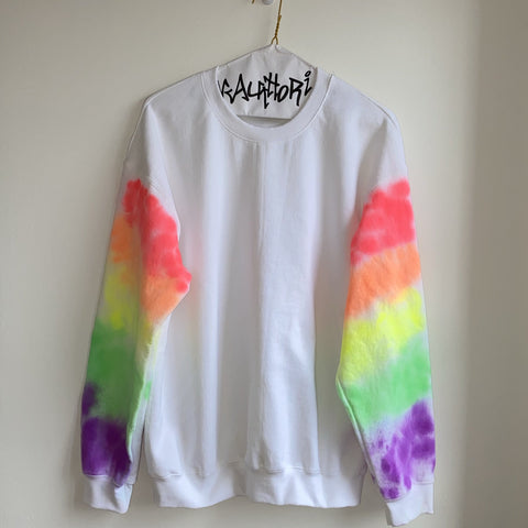 Rainbow Sleeve Sweatshirt