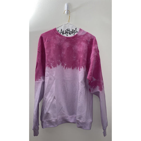 Pink/Purple Acid Wash Sweatshirt