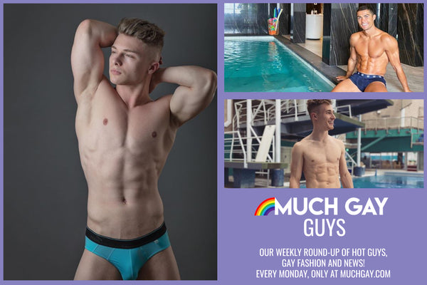 Much Gay Guys - Ronaldo Hits the Pool, Jack Laugher's Speedo and more!