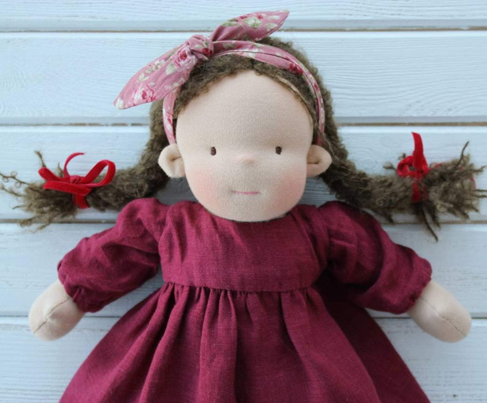 Waldorf Doll With Big Set Of Clothes