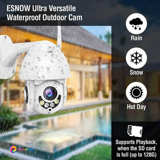 Global Technology - Waterproof Outdoor Wifi Camera