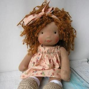 Waldorf doll 14inch/37cm with big set of clothes