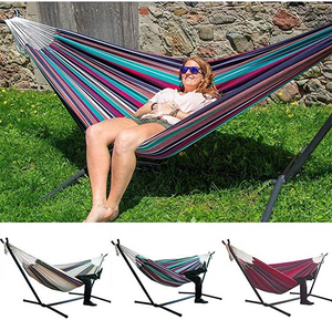 【Last Day Promotion】ultimate comfortable leisure hammock--with Steel Stand-1