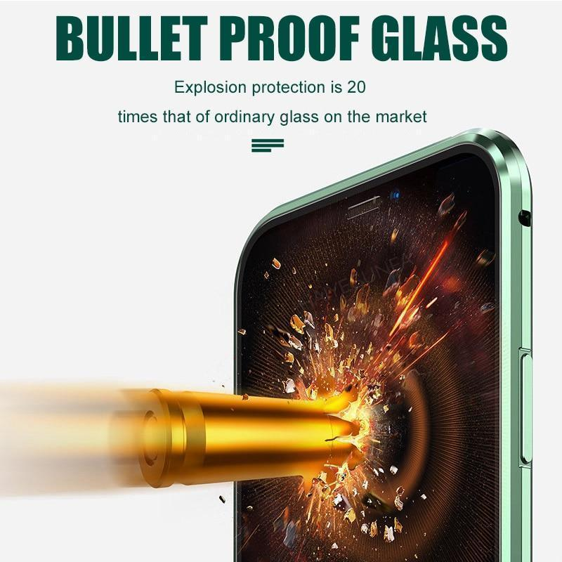 2020 Newest Comprehensive Protection Tempered Glass Case For iPhone