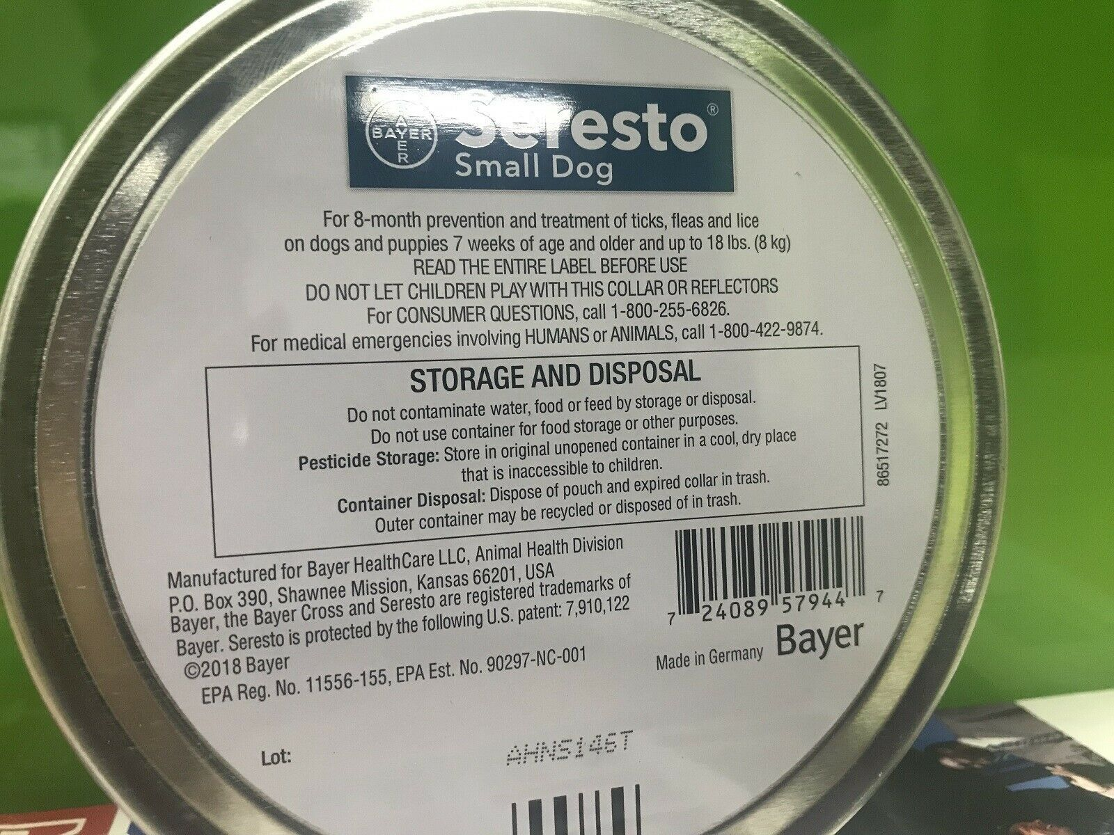 💥$24.99 Only 2 days💥 Bayer Seresto