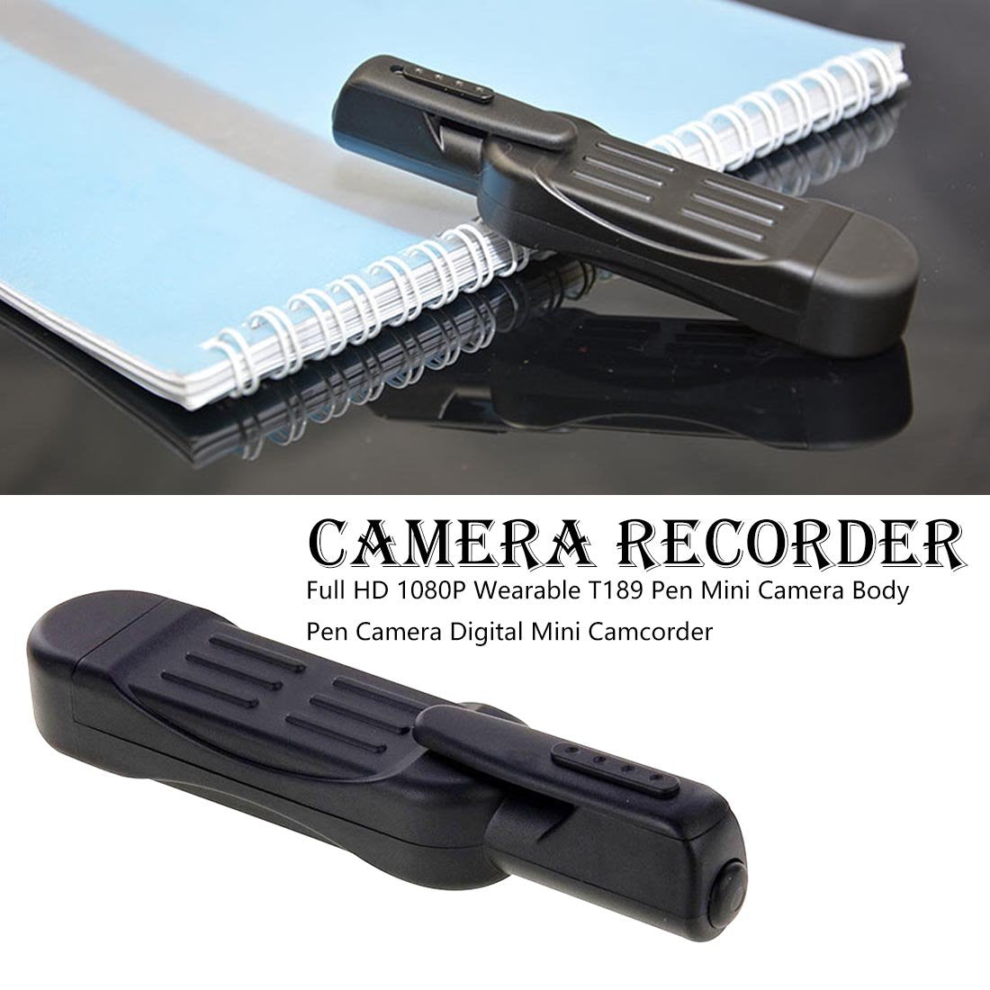 Pocket Pen Recorder™ | Record undetected photos and videos | Buy 2 Free Shipping