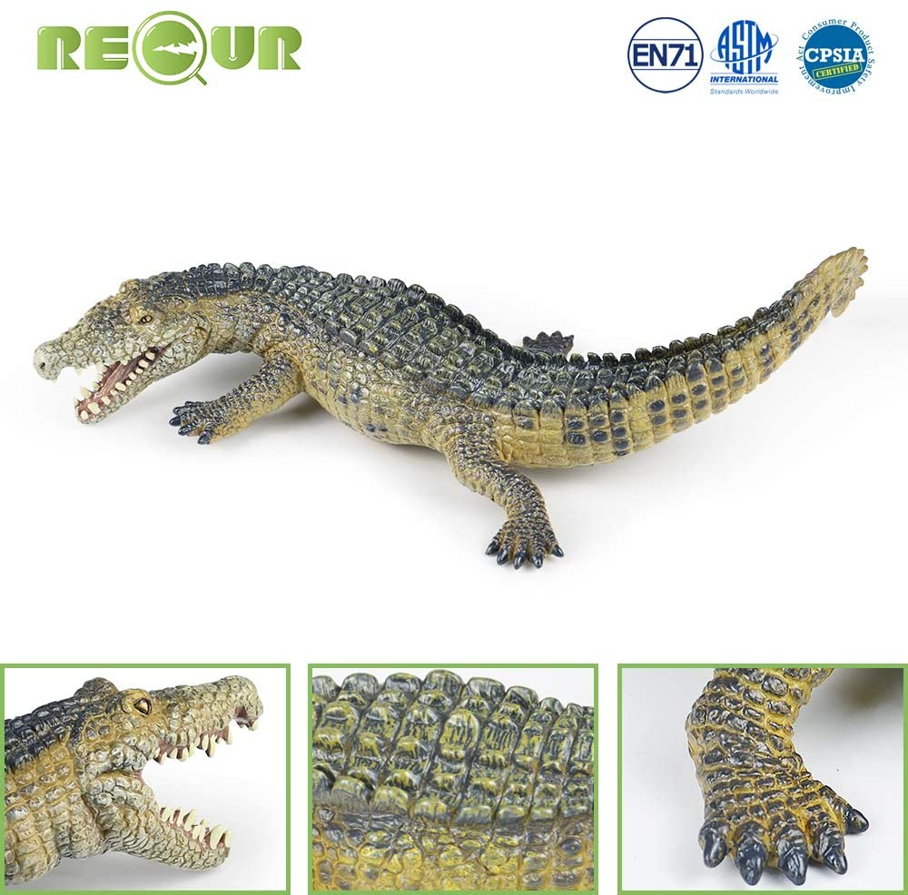 🔥Free Shipping Over $40🔥Realistic crocodile model for collection