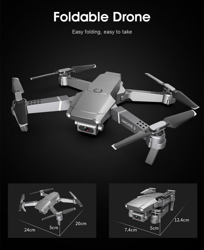 Best Foldable Drone With 720p HD Camera