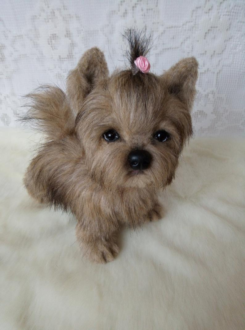 💖$9.99 Second One💖Realistic Yorkshire Terrier Puppy (Piky)