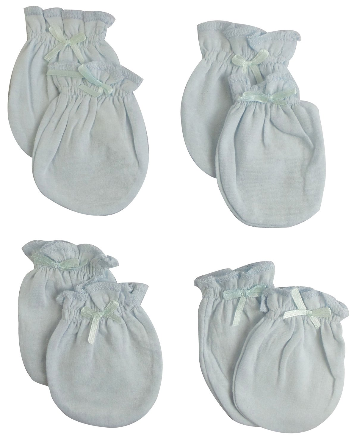 Infant Mittens (Pack of 4) - Baby Blue Product