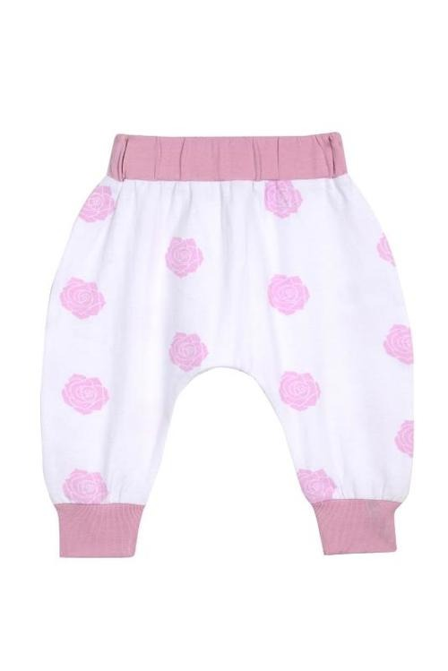 Boo Boo Harem Pants - Pink Rose - Baby Blue Product