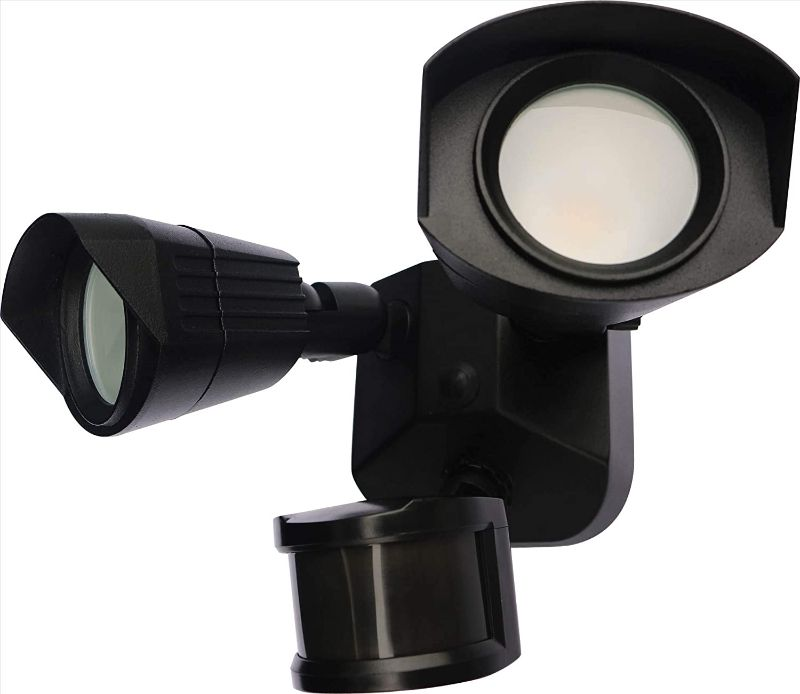 Security Light w/Sensor - Black/Brown/White - 3000K/4000k