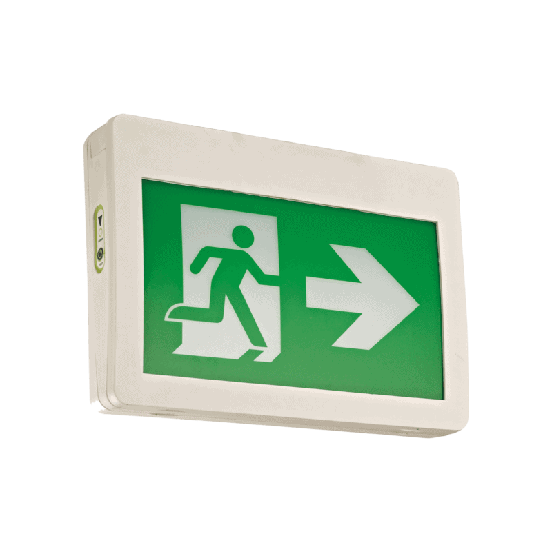 LED Running Man Exit Sign (Thermoplastic)