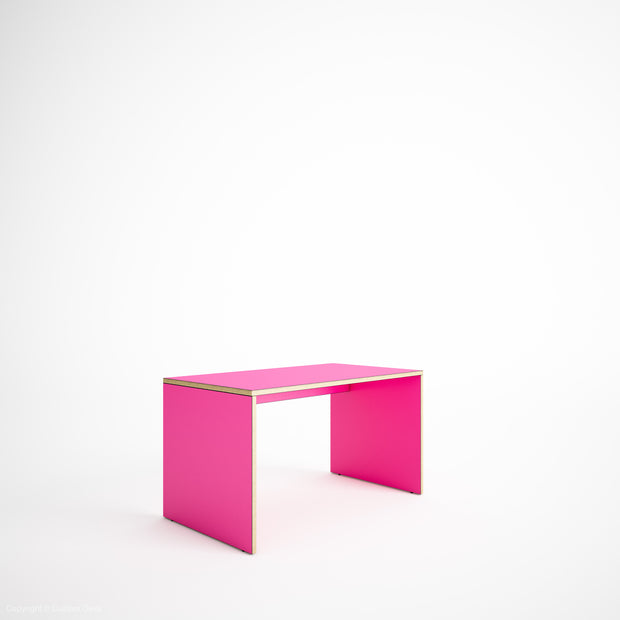 Made to Measure - Custom Plywood Desk with Solid Sides - Kids