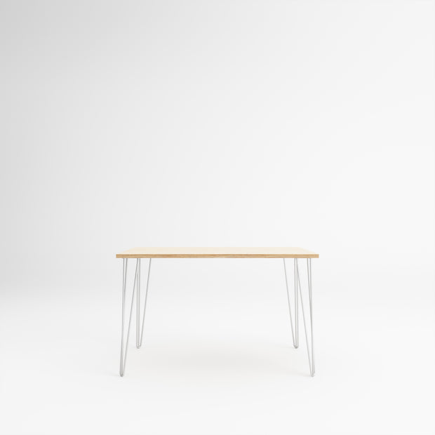 Custom Plywood Desk / Table with Hairpin Legs - Custom Desk
