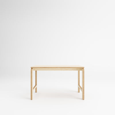 Custom Plywood Desk with Plywood Legs