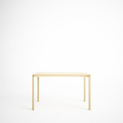 3D Custom Plywood Table with Plywood Legs