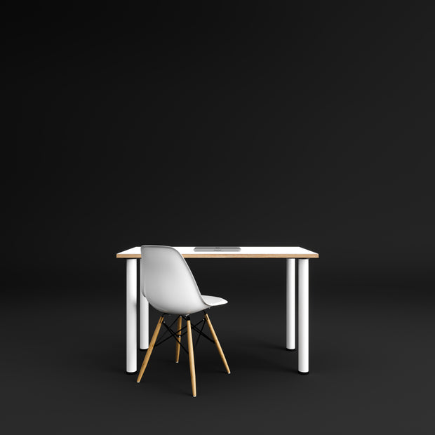 Made to Measure - Custom Plywood Desk with Round Legs