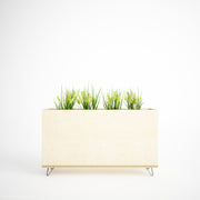 Custom Plywood Planter Box - Custom Desk