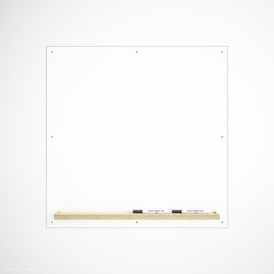 Custom Plywood Whiteboard - Custom Desk