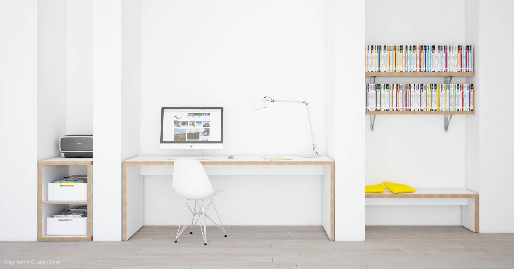 shop office shelf furniture now urban mocka desk