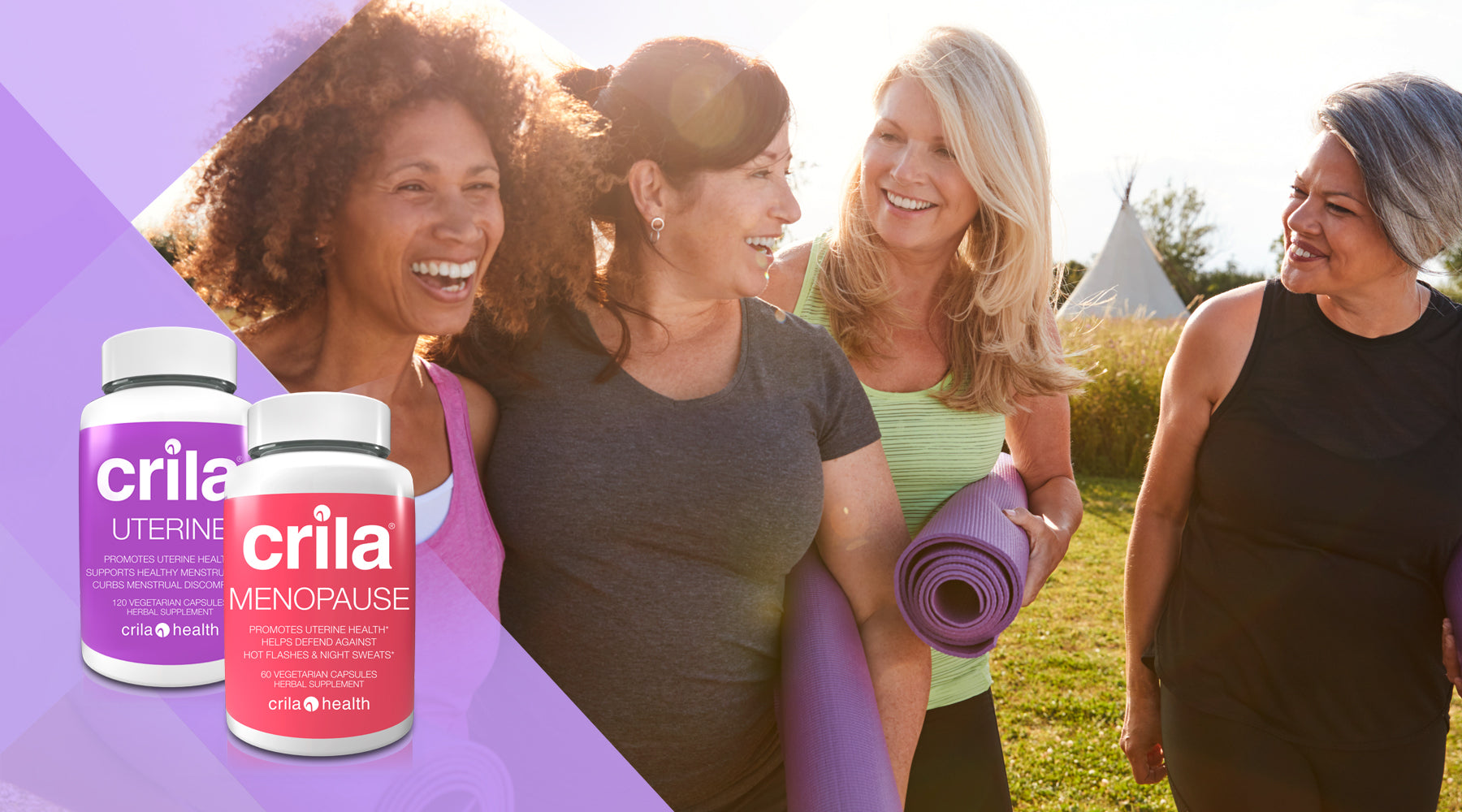 |how to stop hot flashes naturally | Free us shipping | www.crilahealth.com