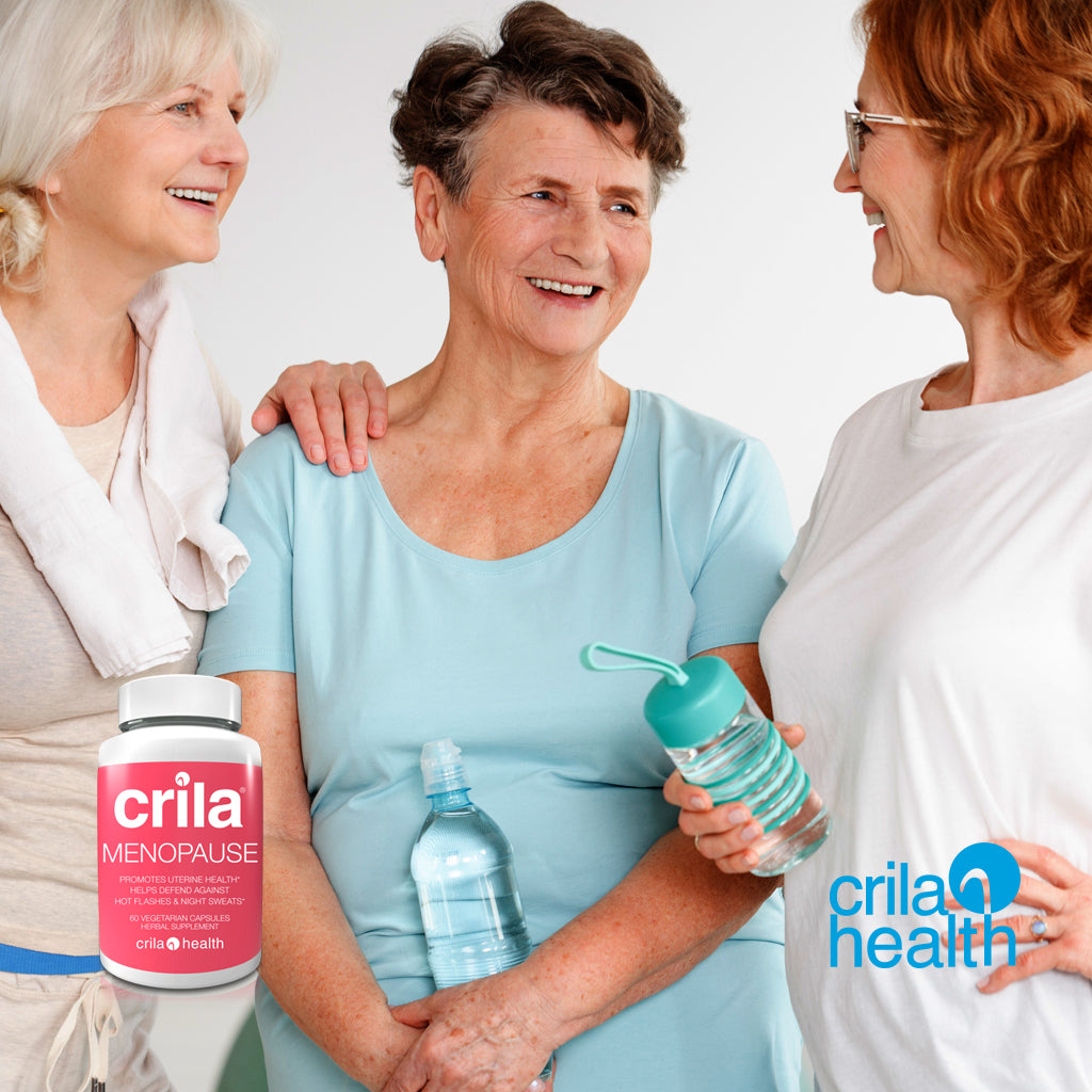 | natural remedies for hot flashes without hormones | Free us shipping | www.crilahealth.com