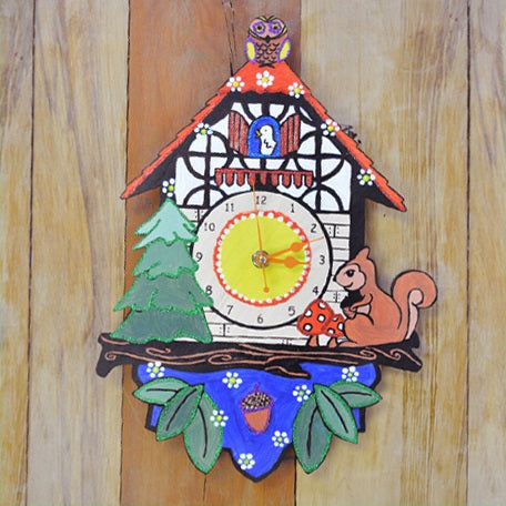Let's go a little Cuckoo and Paint my own Clock