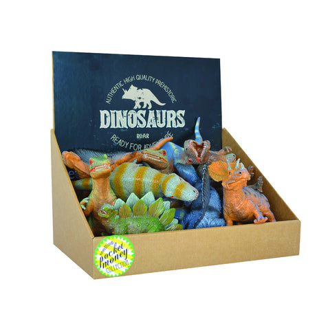 Authentic High Quality Prehistoric Dinosaurs ( Set of 12 )