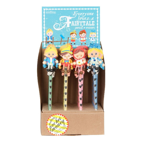 Fairytale Pencil & Eraser ( Set of 24 )
