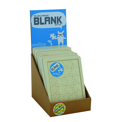 I'm Just a Little Bit Blank Wooden Puzzle ( Set of 24 )