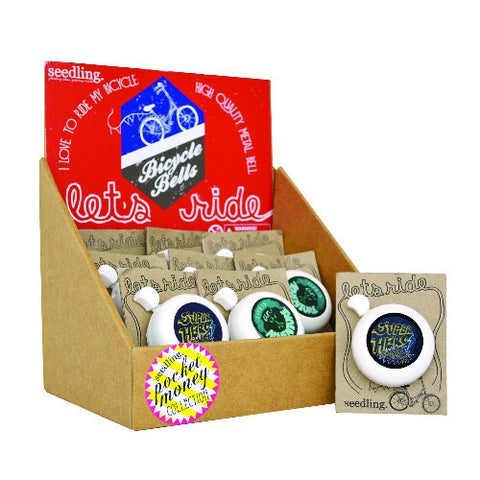 I Love To Ride My Bicycle Bells ( Set of 12 )