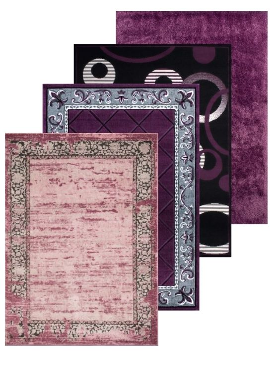 Purple Rug and Purple Area Rugs Collection | Rugs For Sale Outlet