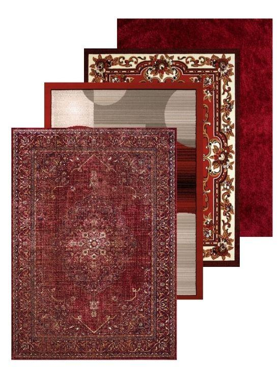 Red Rug and Red Area Rug Collection | Rugs For Sale Outlet