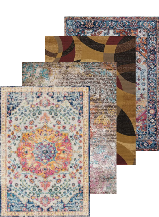 Multicolor Area Rug Collection | Rugs For Sale Outlet