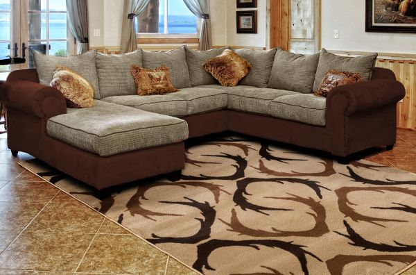 Antler Shed Rug Room View | Rugs For Sale Outlet