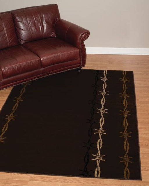 Barbed Wire Rug Room View | Rugs For Sale Outlet