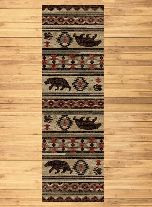 Bear Trails Rug Runner | Rugs For Sale Outlet