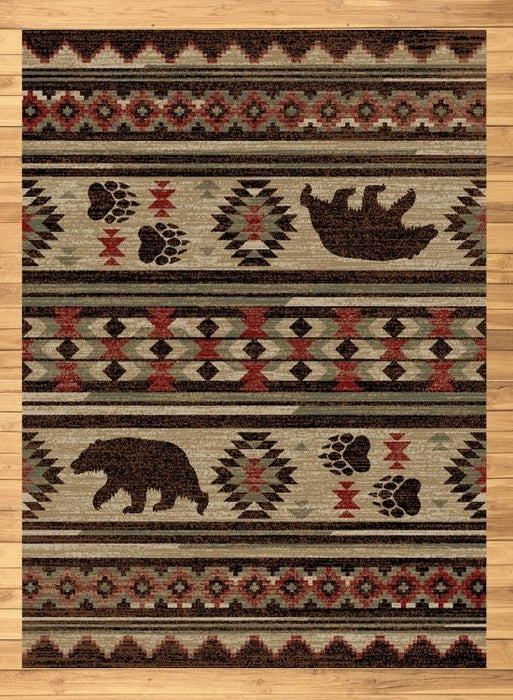 Bear Trails Rug | Rugs For Sale Outlet