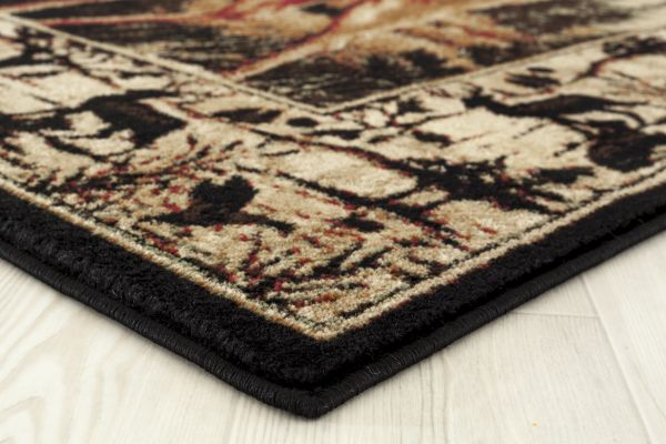 Boulder Creek Rug Edge View | Rugs For Sale Outlet