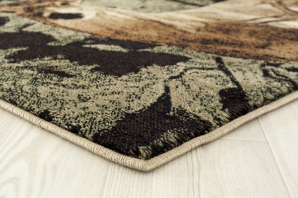 Buck Season Rug Edge View | Rugs For Sale Outlet
