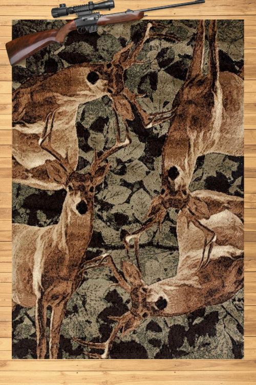 Buck Season Rug Overview | Rugs For Sale Outlet