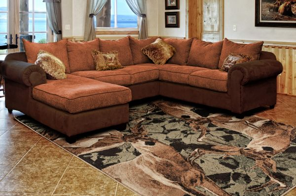 Buck Season Rug Room View | Rugs For Sale Outlet