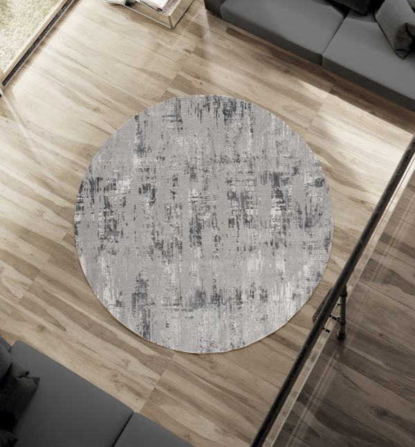 Contemporary Clayton Rug Round | Rugs For Sale Outlet