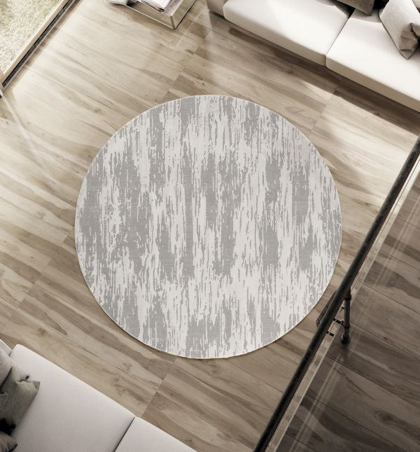 Contemporary Gem Rug Round | Rugs For Sale Outlet