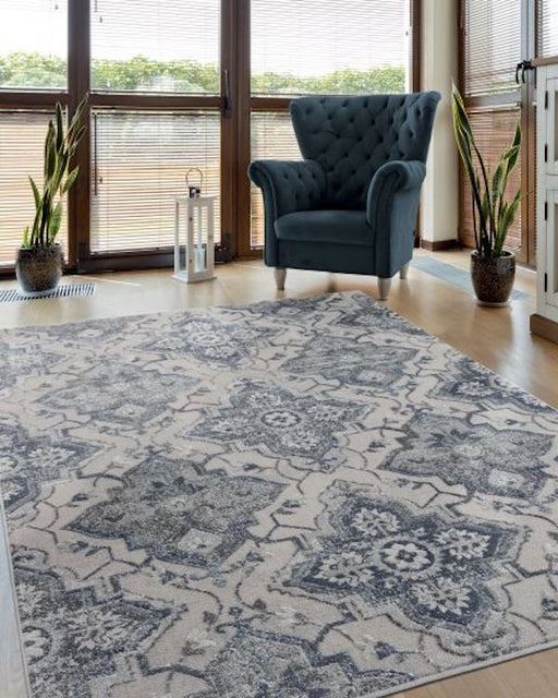 Contemporary Glow Rug Room View | Rugs For Sale Outlet