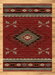Cross Arrows Red Rug | Rugs For Sale Outlet