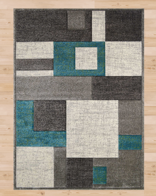 Geometric Gray Rug | Rugs For Sale Outlet