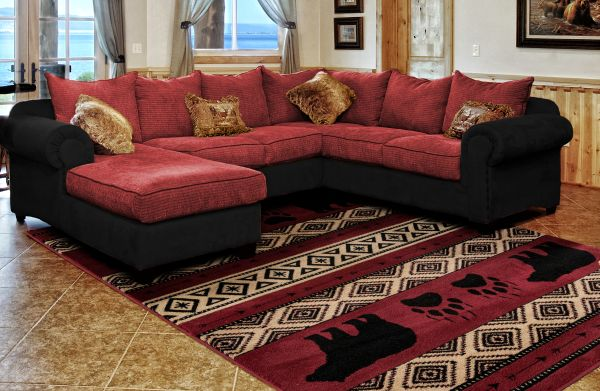 Granada Red Rug Room View | Rugs For Sale Outlet